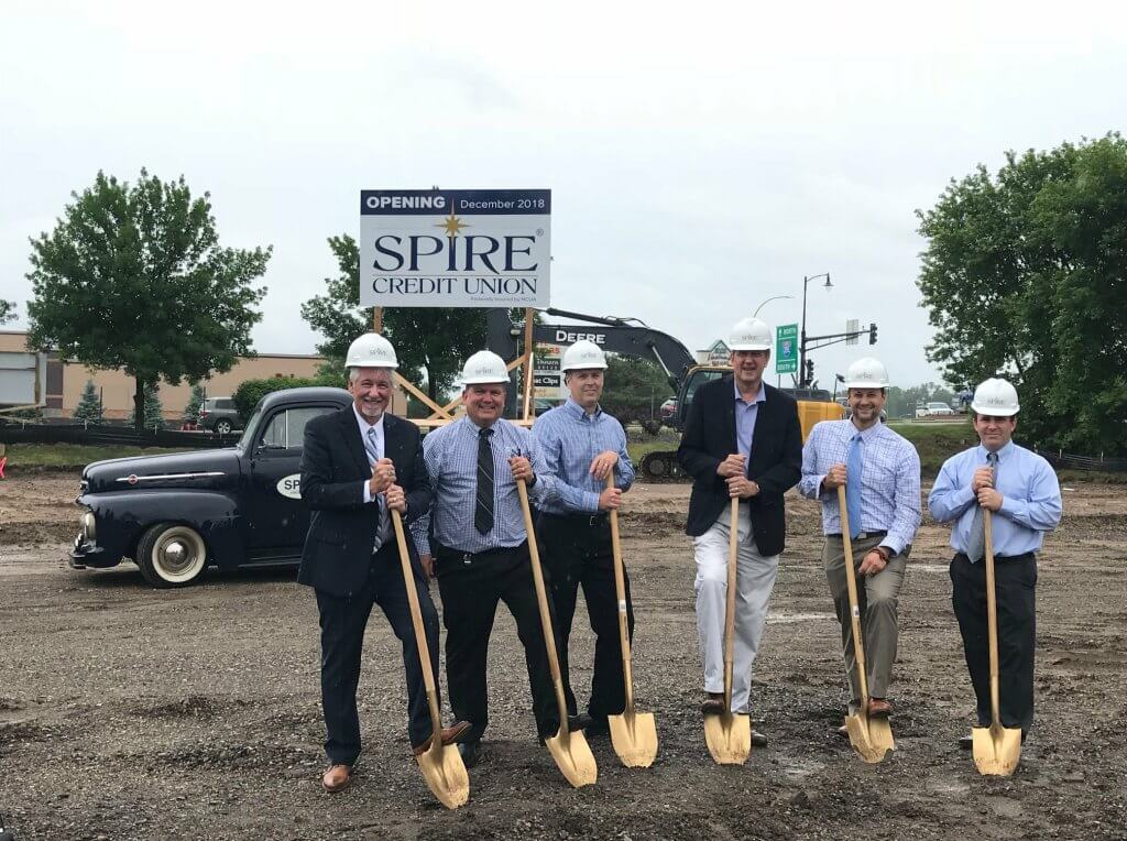 Greiner has supported Spire Credit Union's regional growth with a personalized construction experience.